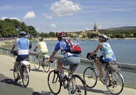Cycling Lošinj to Cres