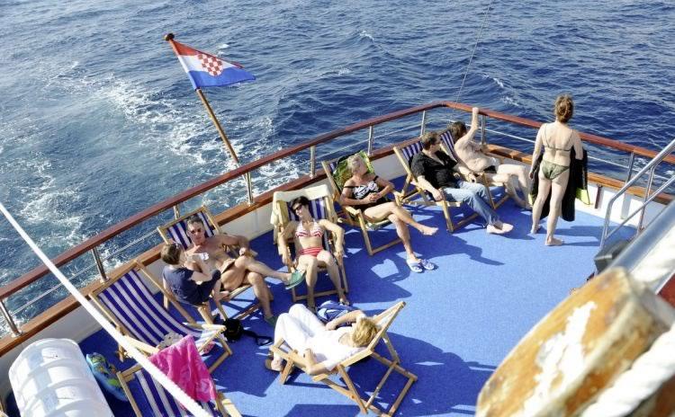 Motor Sailer MS Columbo Croatia Cruises Ex Port Trogir - Columbo cruise ship